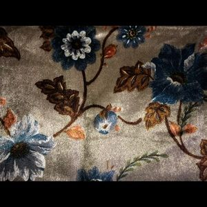 """26"""" x 29"""" vintage upholstery craft fabric floral"""